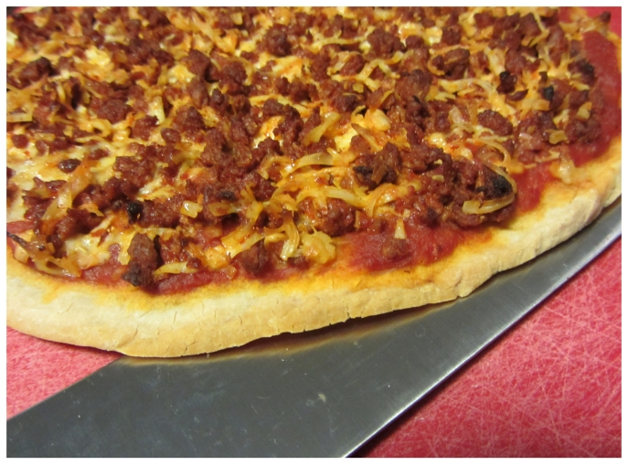 #Vegan #Chorizo #Glutenfree #Pizza