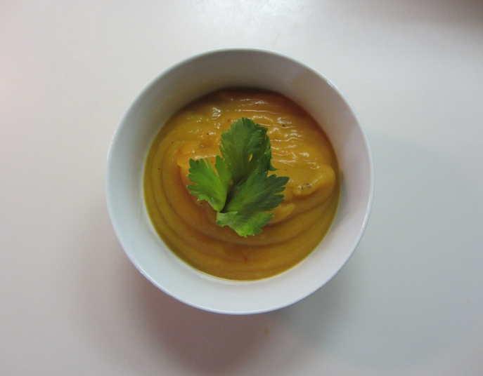 Sweet Potato Onion Soup