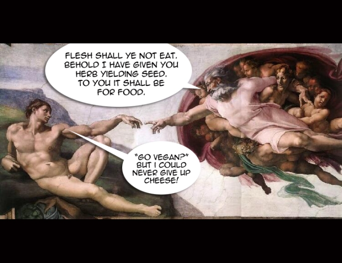 #God Has Spoken - Go #Vegan [#GoVegan]