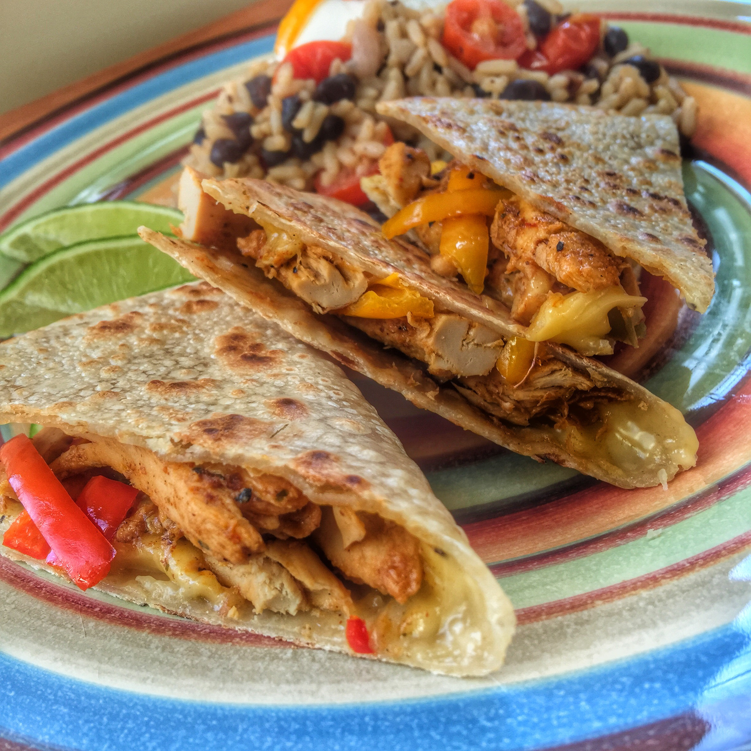 Beyond meat that i got to try the beast for the first time also happened to be taco tuesday so i whipped up some pepper quesadillas with the beyondmeat chicken biocorpaavc Images